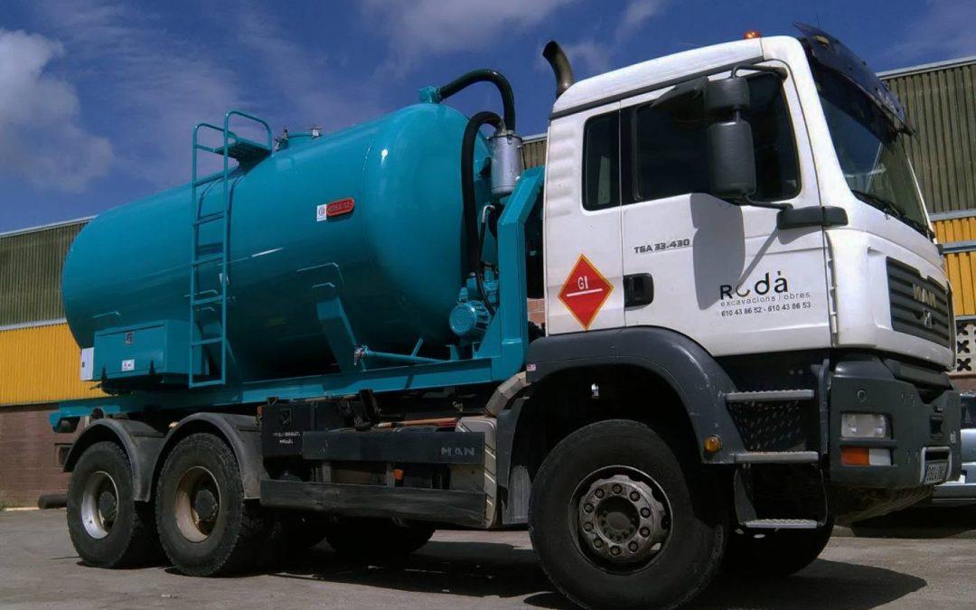 Citernes pour le transport d'eau