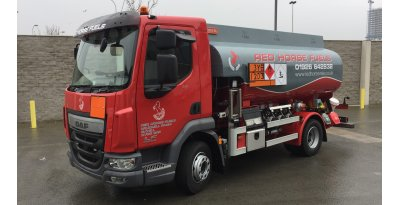 Another RIGUAL rigid tanker in UK