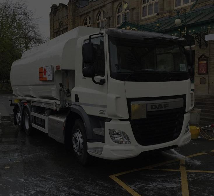 DAF CF410 26 TONNER WITH 20,000 LITRE 5 COMPARTMENT TANK