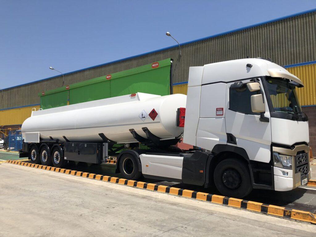 Autoportante Rigual para el transporte de gas-oil y gasolinas de 38000