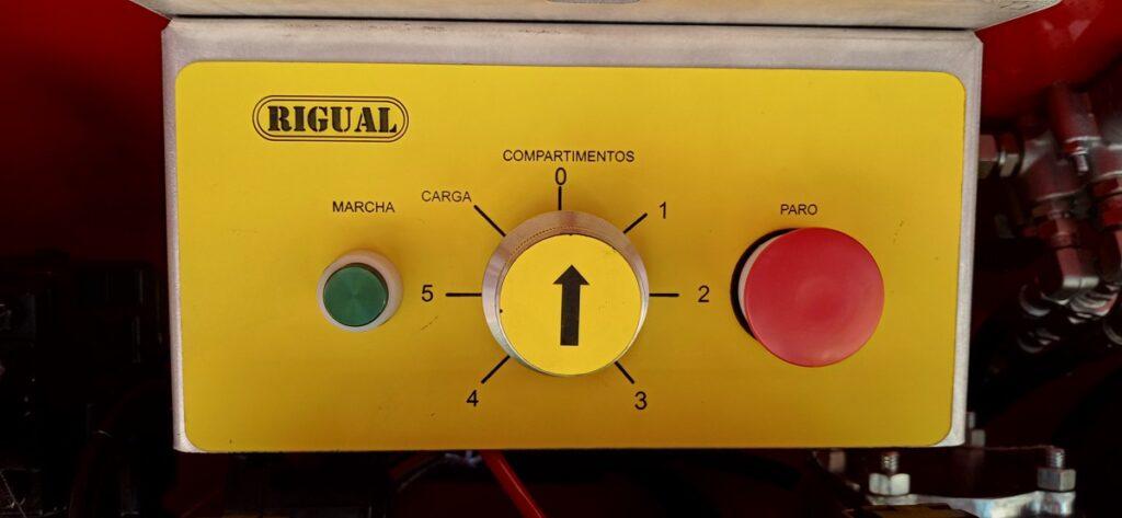 Cuadro de mando de cisterna autoportante Rigual