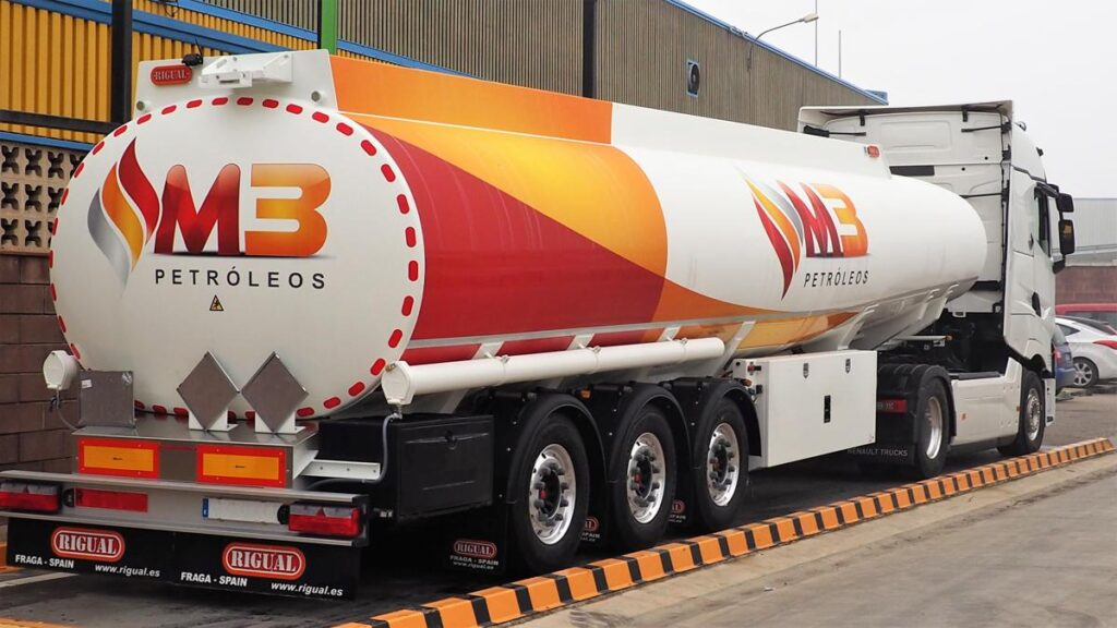 Equipo cisterna autoportante 38000 litros Grupo M3
