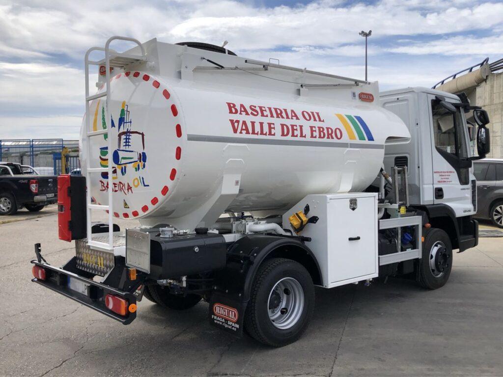 Cisterna Rigual de 6000 litros para el reparto de Gas-oil