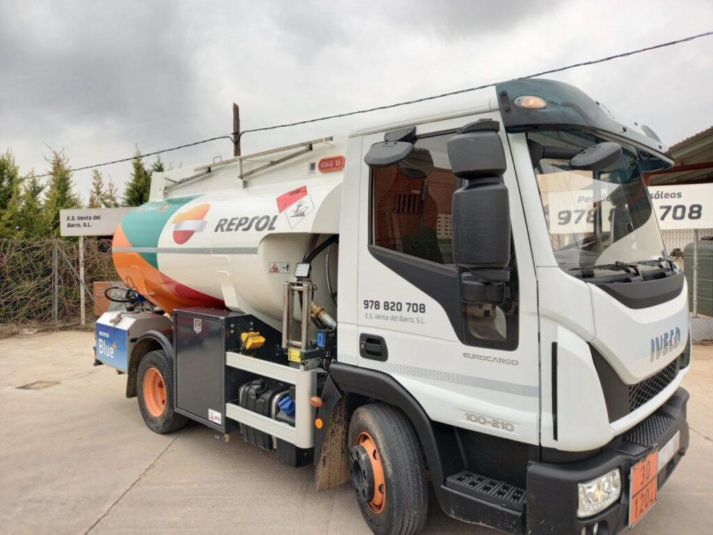Cisterna Rigual para carburante de 6000 litros y adblue
