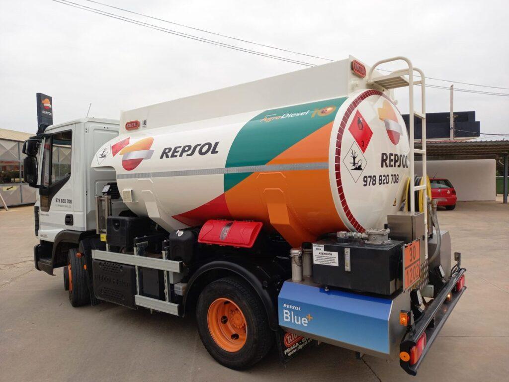 Cisterna Rigual para carburante de 6000 litros