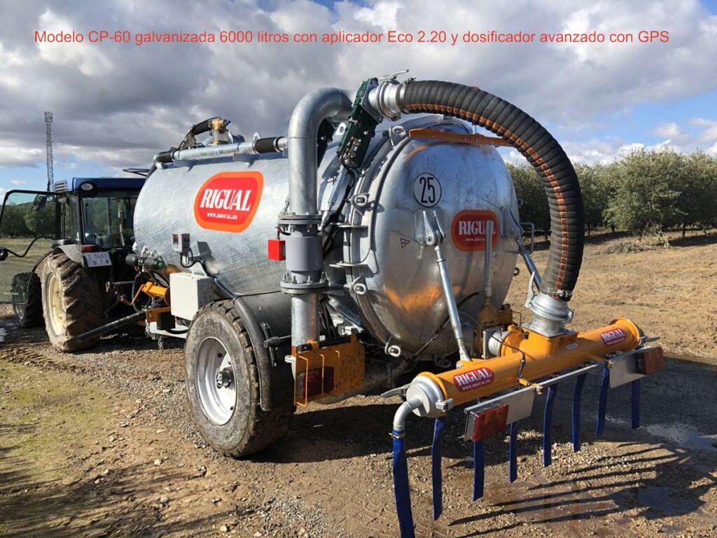 cuba rigual MODELO CP-60 6000 litros con Eco 2,20 con dosificador avanzado y GPS_2