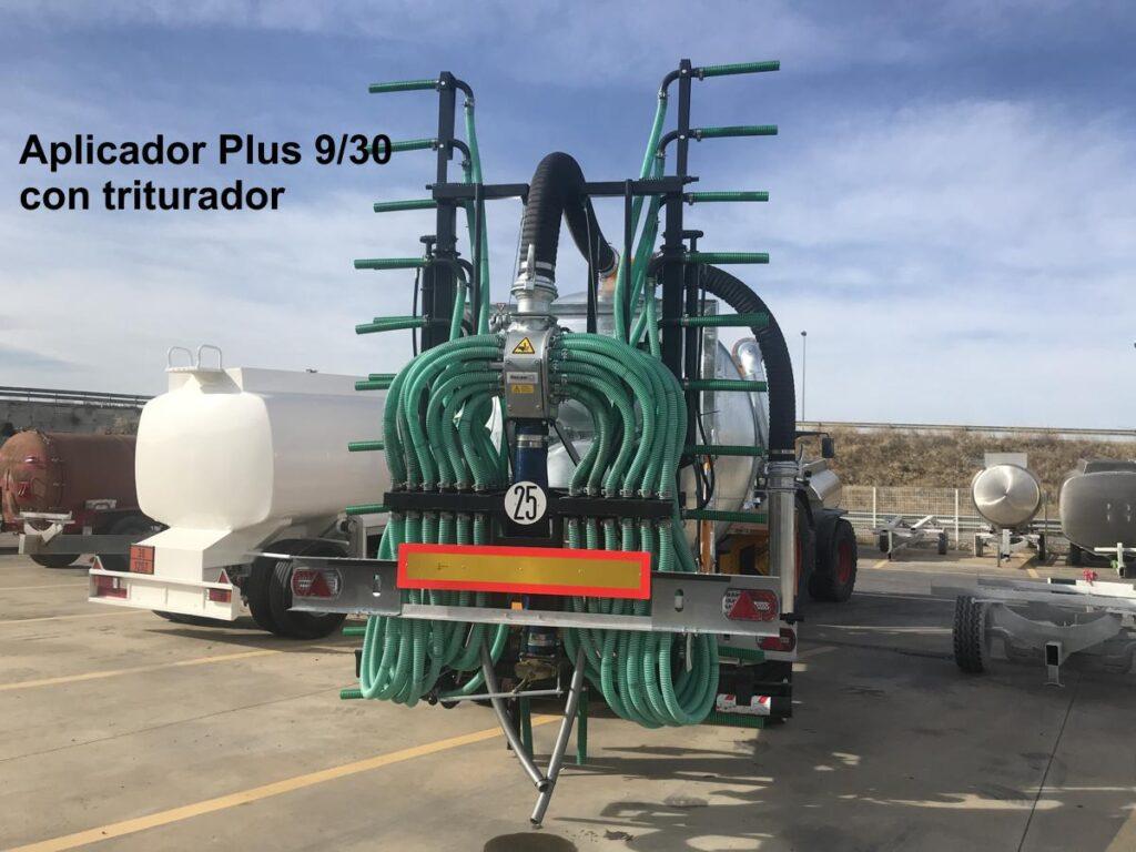 Aplicador Plus Rigual 9_30 con triturador