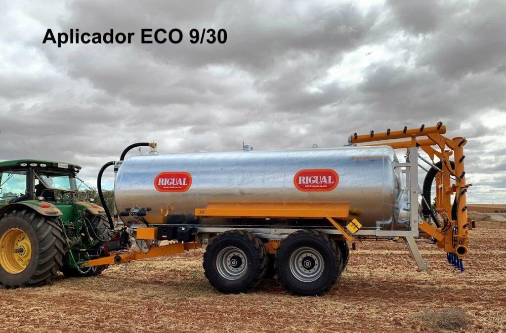 Aplicador rigual modelo ECO 9/30