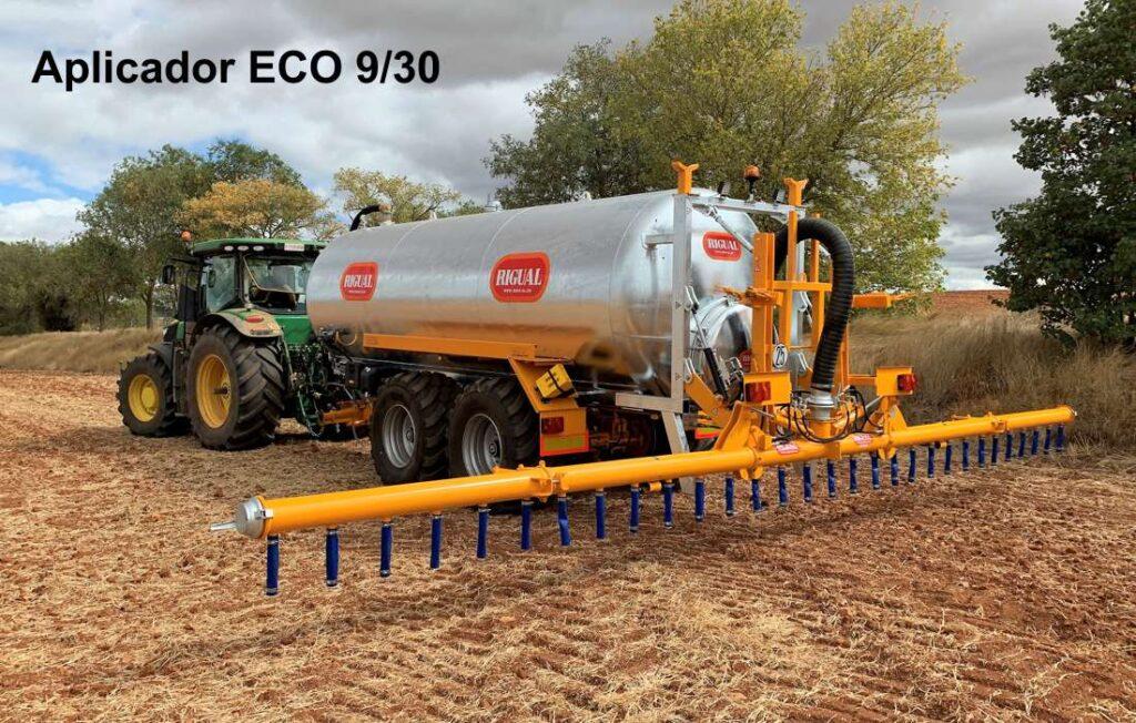 Aplicador rigual modelo ECO 9_30