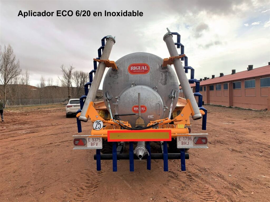Aplicador Rigual ECO 6_20 en Inoxidable