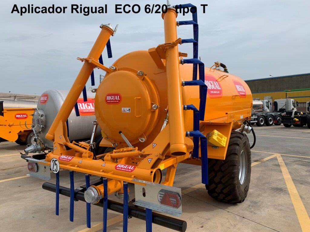 Aplicador Rigual ECO 6_20 Tipo T de hierro