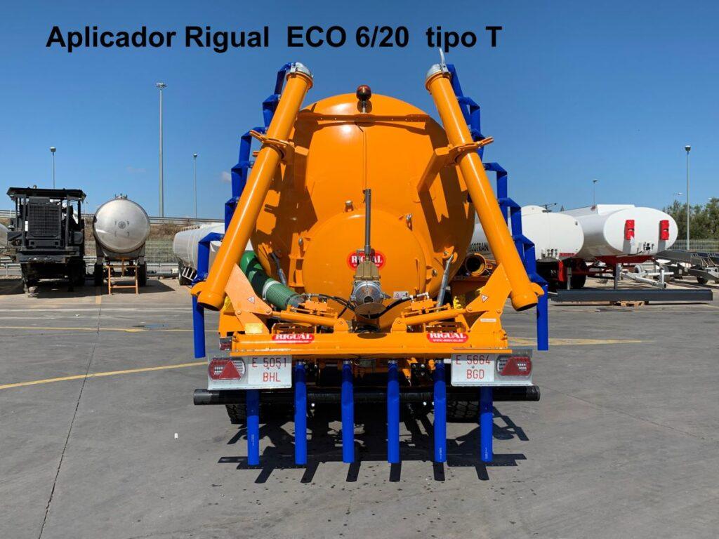 Aplicador Rigual ECO 6_20 tipo T