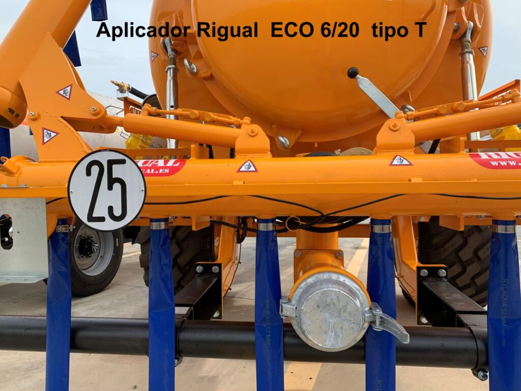 Aplicador RIgual modelo ECO 6_20 tipo T