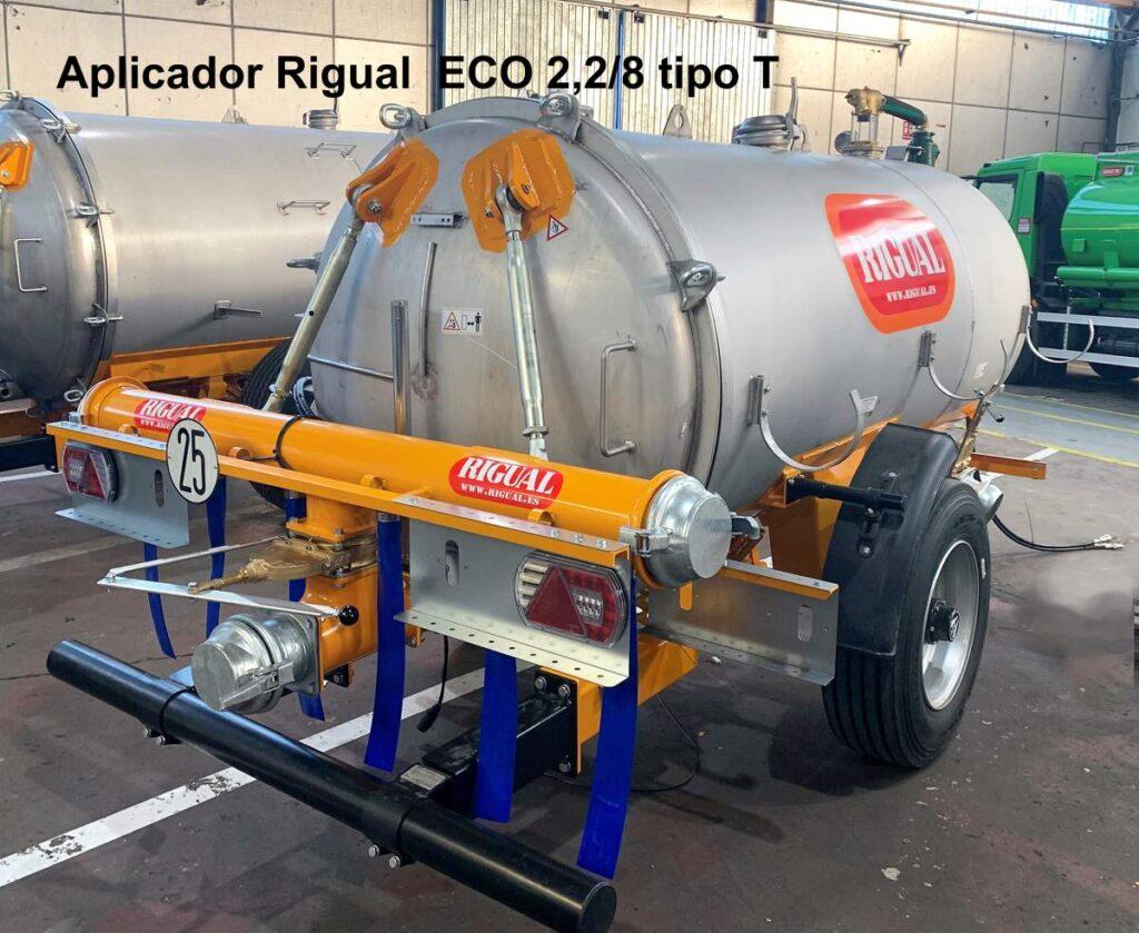 Aplicador Rigual ECO 2,2_8 tipo T