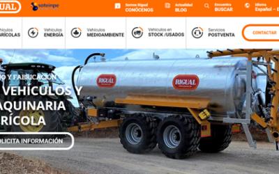 Rigual, SA presenta su nueva Página Web www.rigual.es