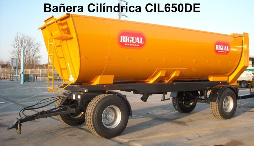Bañera rigual Cilíndrica CIL650DE