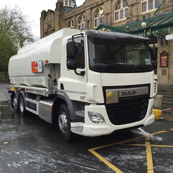 DAF CF410 26 TONNER WITH 20,000 LITRE 5 COMPARTMENT TANK FUEL
