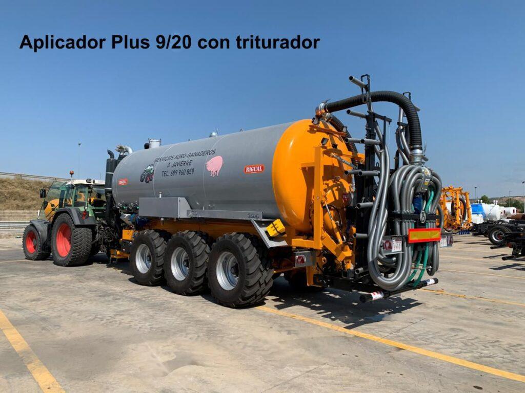Aplicador Plus 9_20 con triturador