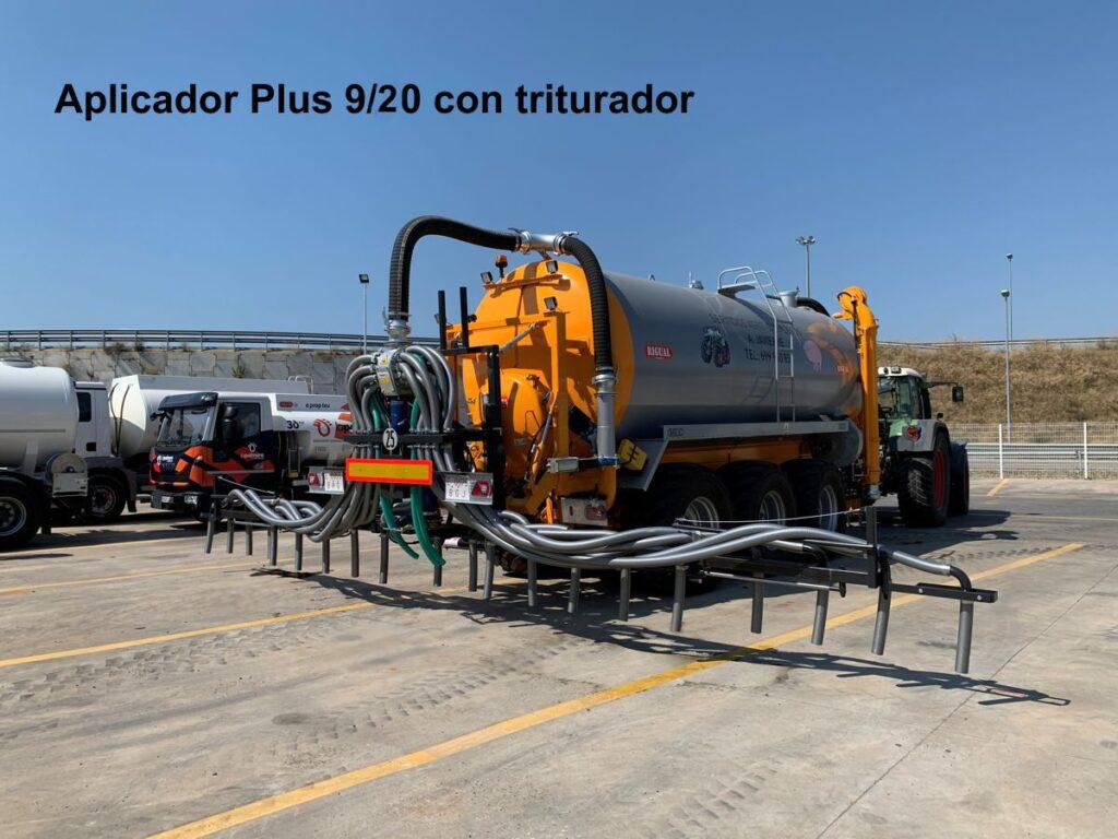 Aplicador Rigual Modelo Plus 9_20 con triturador