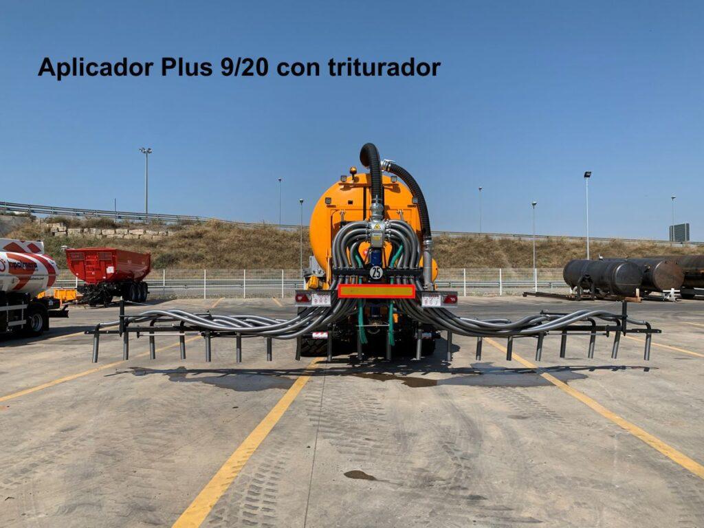 Aplicador Rigual Plus 9_20 con triturador