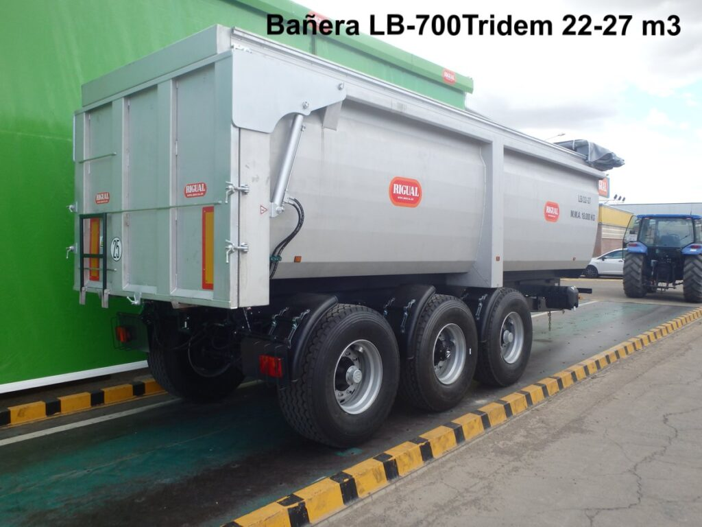 Bañera agricola Rigual LB-700 Tridem