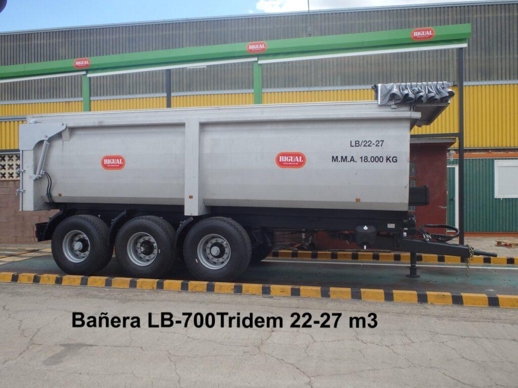 Bañera rigual LB-700 Tridem