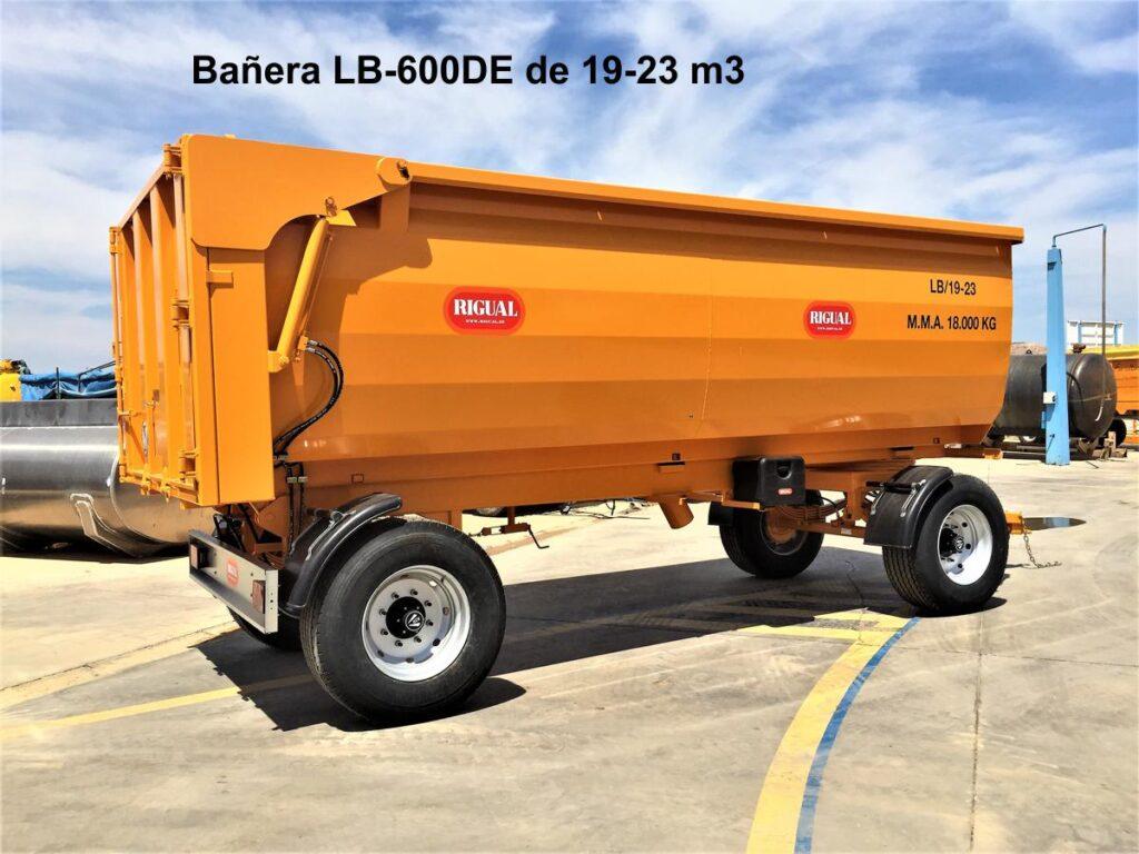 Bañera Agrícola Rigual LB-600-DE 19 23m3