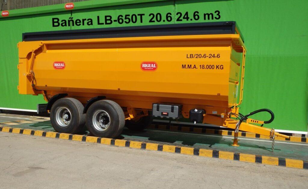 Bañera agrícola LB-650T