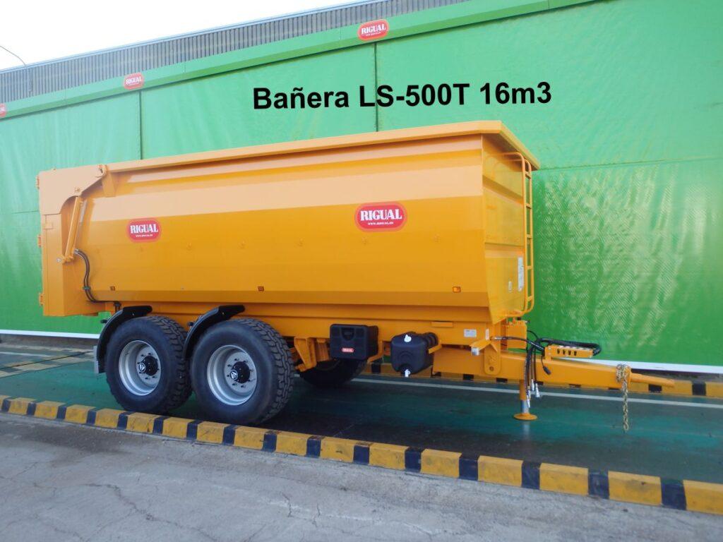 Bañera rigual agrícola LS-500T