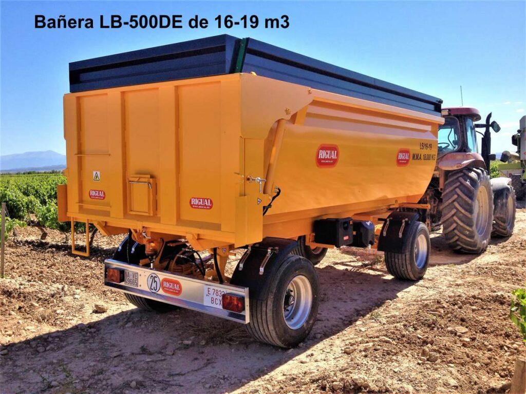 Bañera rigual LS500DE 16 m3