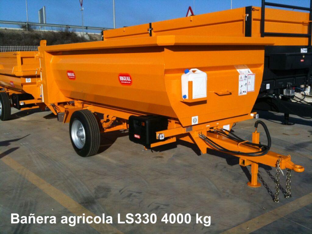 Bañera agricola rigual Ls330 4000kg