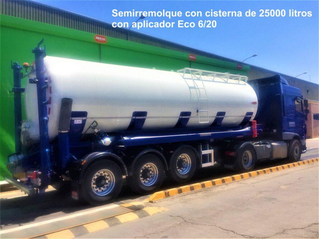 Semirremolque con cisterna rigual de 25000 litros con aplicador 6_20