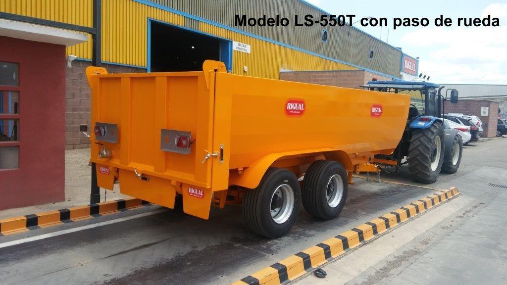 Bañera rigual especial viña LS-550T CON PASO DE RUEDA