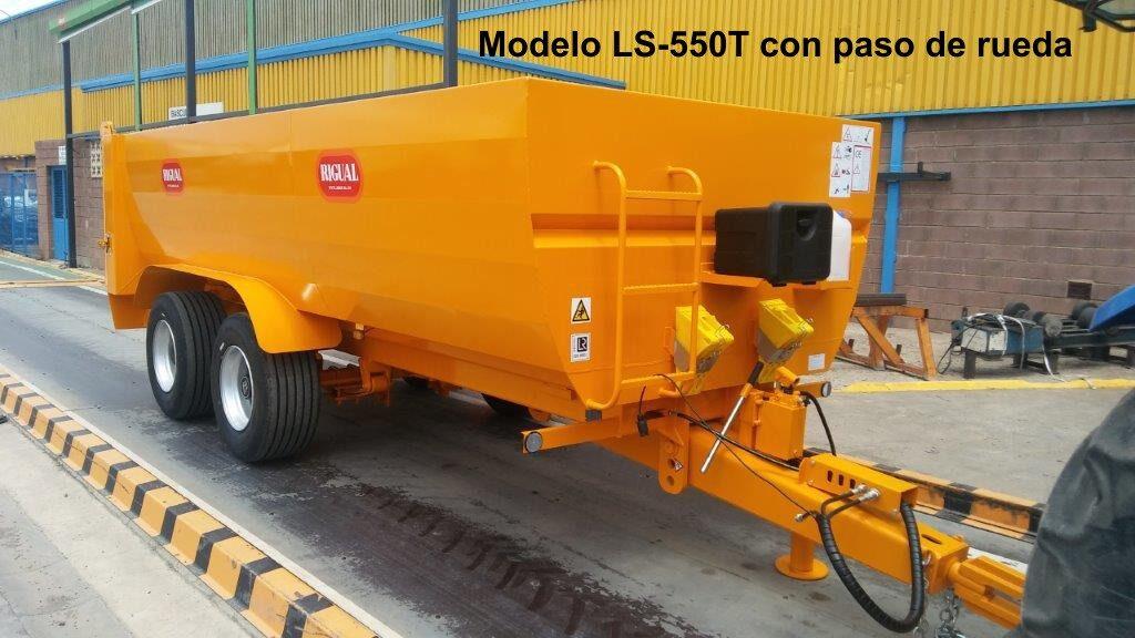Bañera viña rigual LS-550T CON PASO DE RUEDA