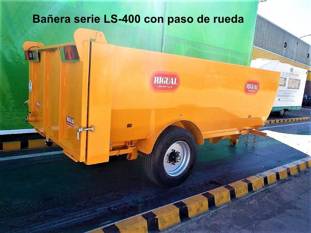 Bañera rigual LS-400 PASO DE RUEDA