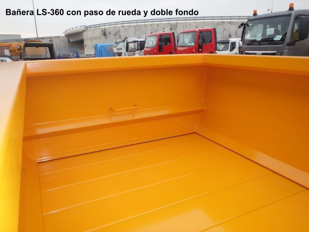 Rigual bañera LS-360 PASO DE RUEDA Y DOBLE FONDO