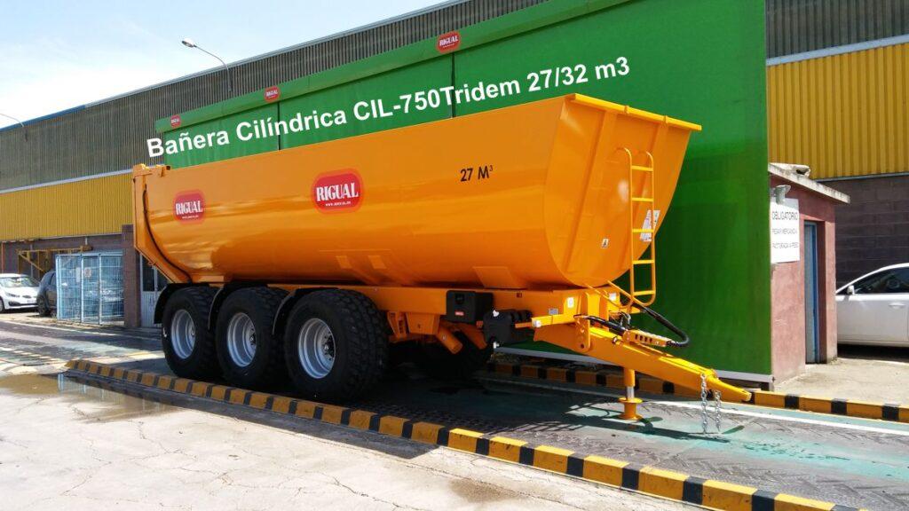 Bañera Cilíndrica rigual CIL-750 TRIDEM