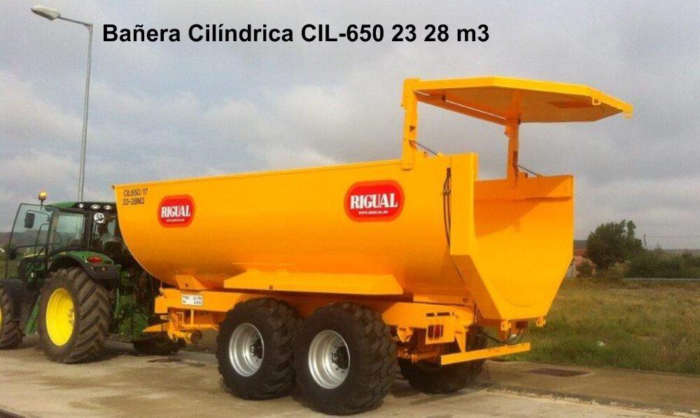 Bañera Cilíndrica rigual CIL-650 23/28 M3