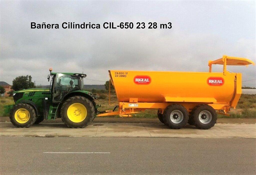 Bañera Cilíndrica CIL-650 23 28 M3 3