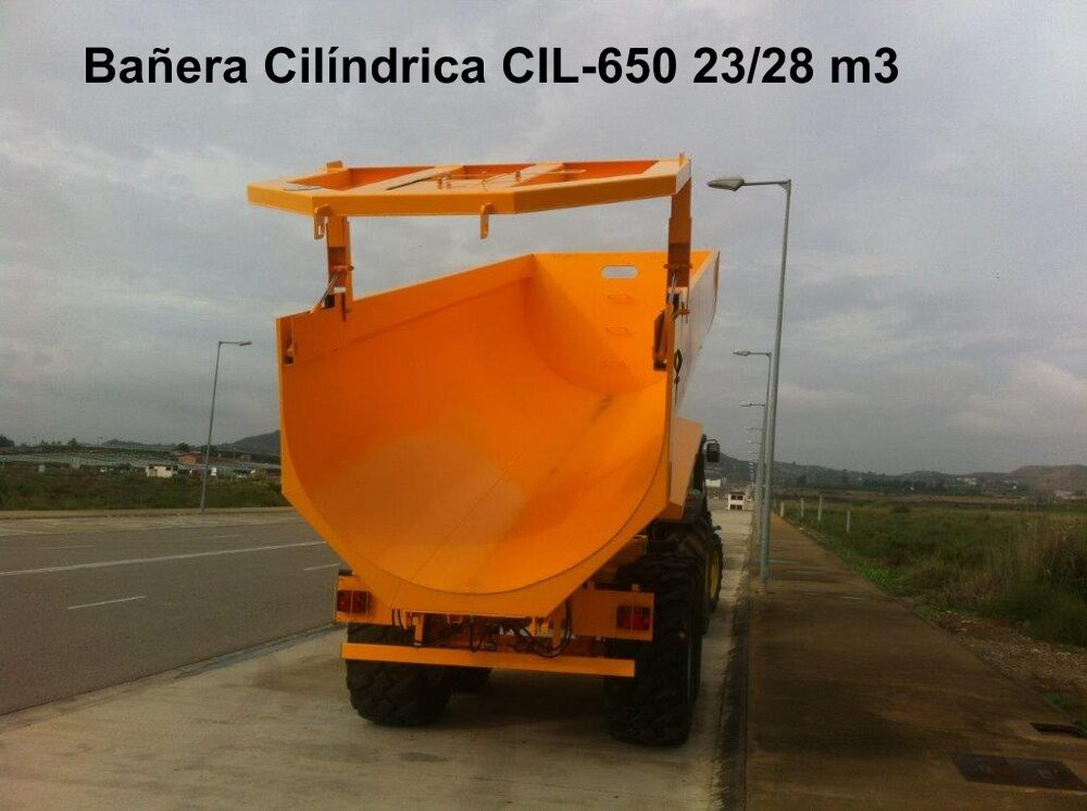 Bañera Cilíndrica CIL-650 23/28 M3 rigual