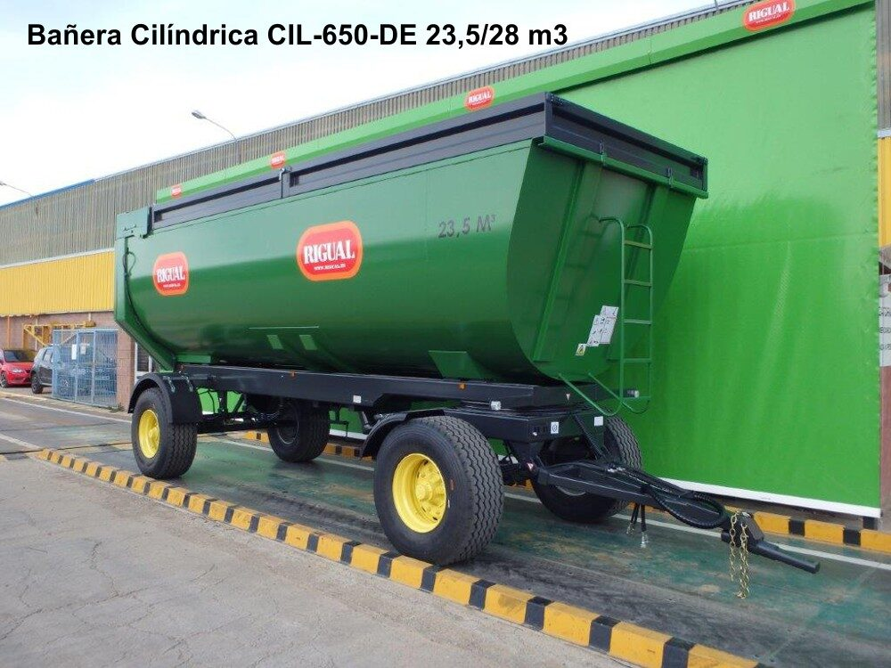 Bañera Cilíndrica rigual dos ejes CIL-650-DE