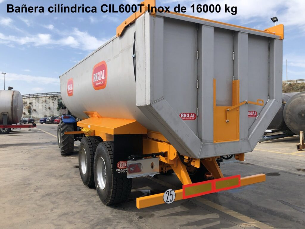 Bañera Cilíndrica rigual CIL600T INOX