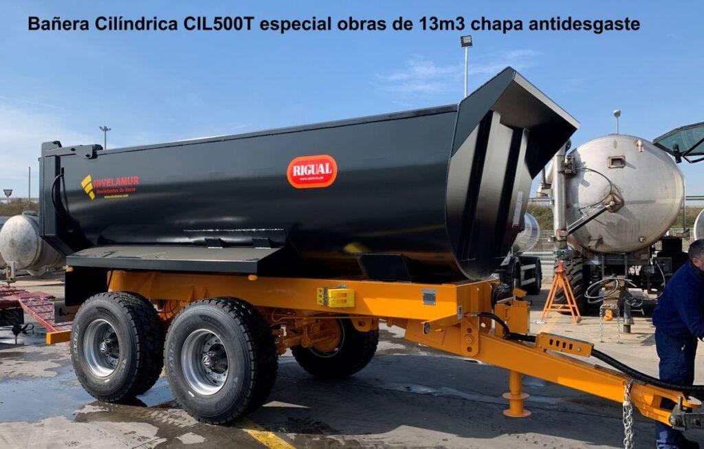 Bañera Cilíndrica rigual CIL-500 especial obras