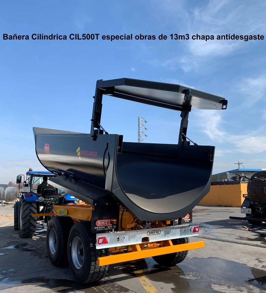 Bañera rigual Cilíndrica CIL-500 especial obras