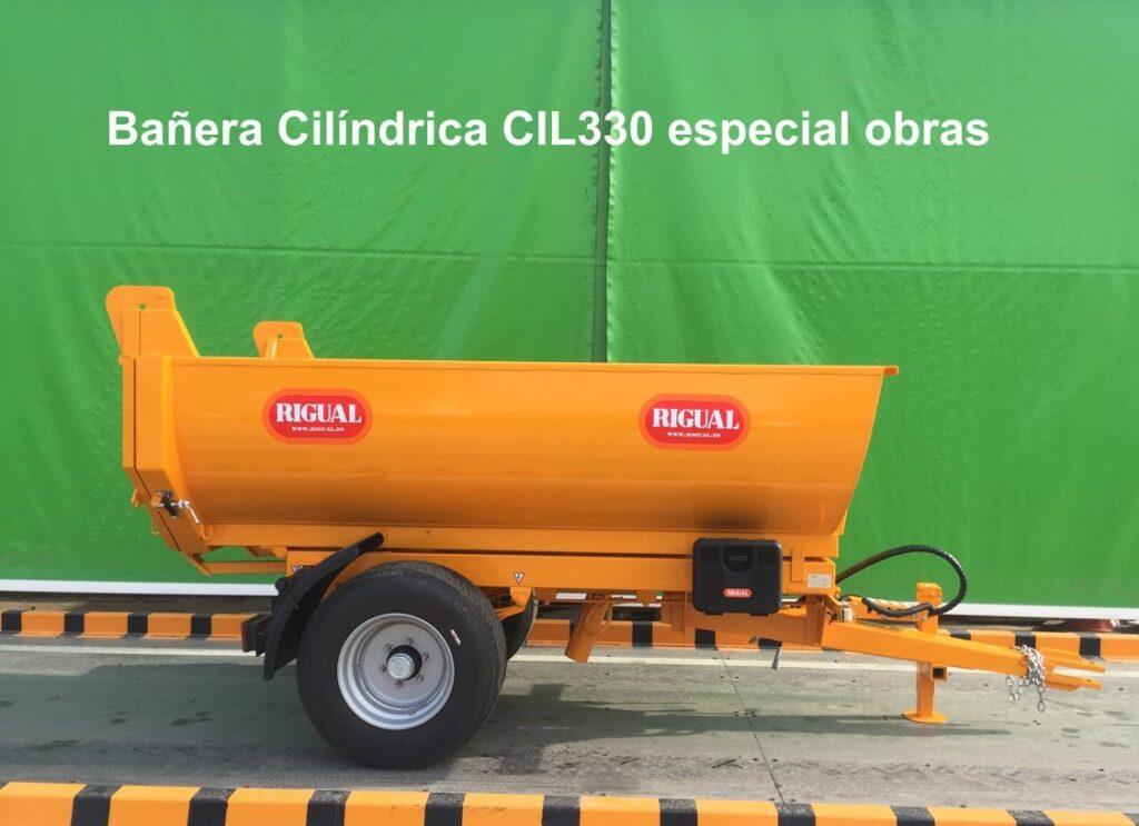 Bañera Cilíndrica rigual CIL330 Especial Obras