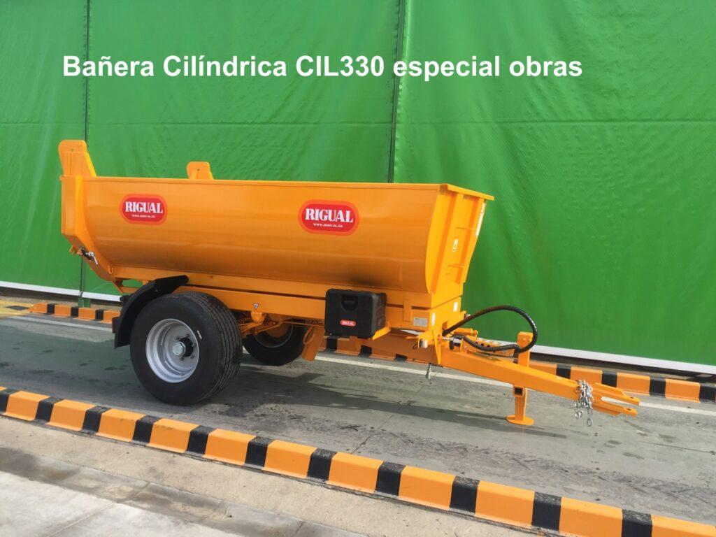 Bañera Cilíndrica CIL330 Especial Obras